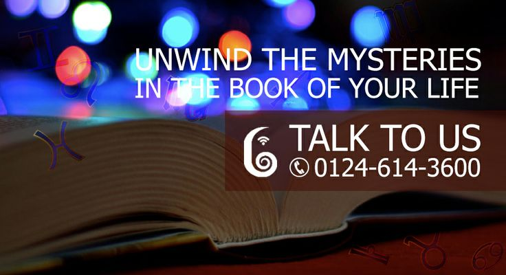 Unwind the Mysterious in the book of your life. Talk to us at 0124 614 3600