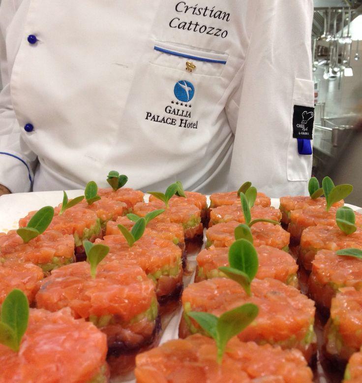 Preparazione del Salmone !!