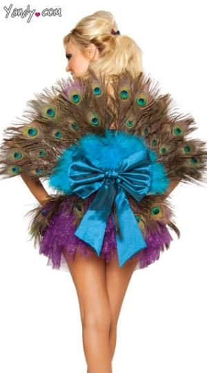 ThanksSexy Peacock Costume By Bridget, Sexy Peacock Halloween Costume awesome pin