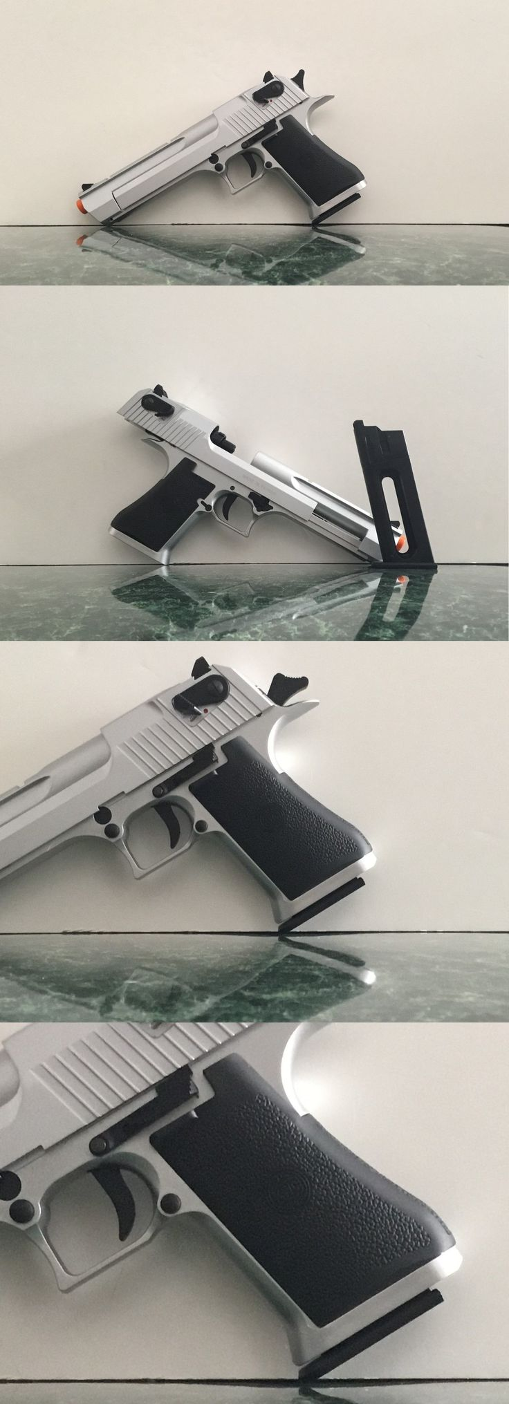 Other Gas Airsoft Guns 31685: Kwc .50 Desert Eagle Style Co2 Blowback Version (Metal Slide) - Silver BUY IT NOW ONLY: $129.99