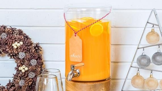 Пунш с апельсинам, лаймом, лимоном и специями. Пошаговый рецепт с фото на Gastronom.ru