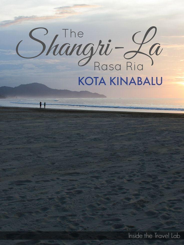 One of the most beautiful places to stay in Borneo, the Shangri-La Rasa Ria, Kota Kinabalu via @insidetravellab