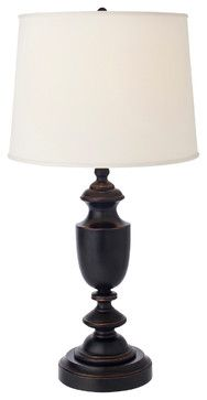 Baluster Cordless Table Lamp traditional-table-lamps