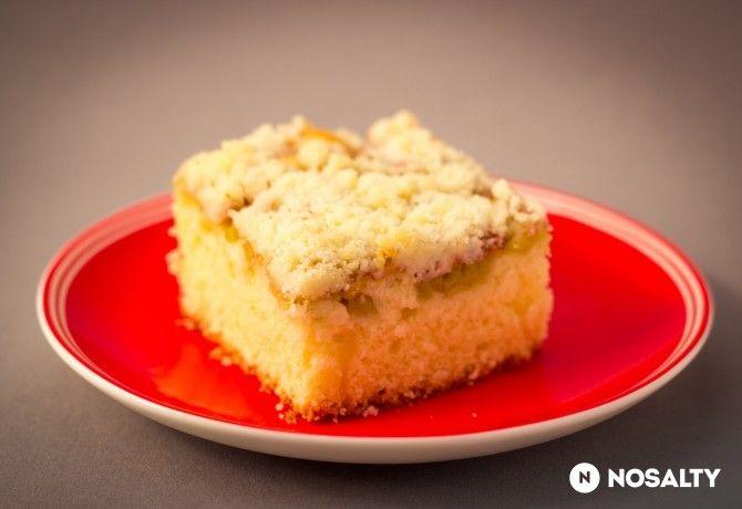 Könnyű rebarbarás süti