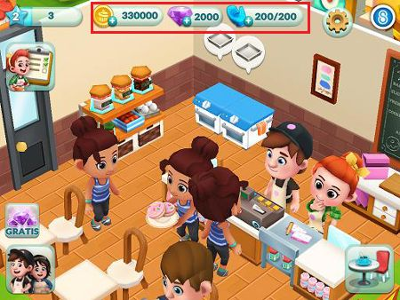 Bakery Story 2 Hack - Cheats for iOS - Android Devices - Unlimited Gems App, Unlimited Diamonds App