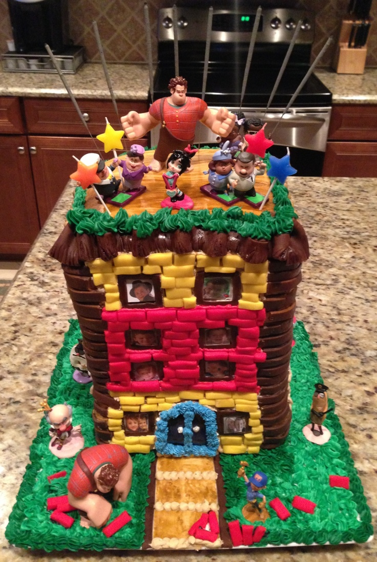 7 Best Disney S Wreck It Ralph Cakes Images On Pinterest