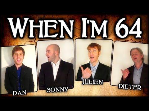 When I'm 64 (The Beatles) - A Cappella Barbershop Quartet