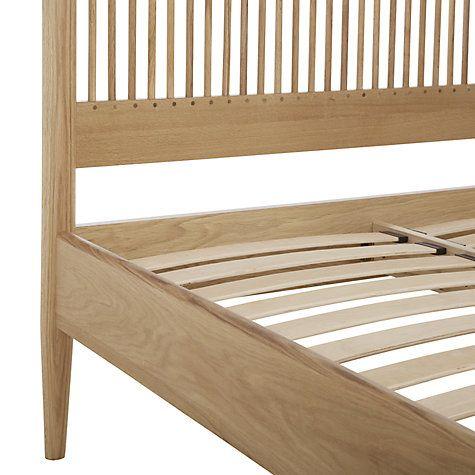 Buy John Lewis Essence Low End Bed, Oak, Kingsize Online at johnlewis.com