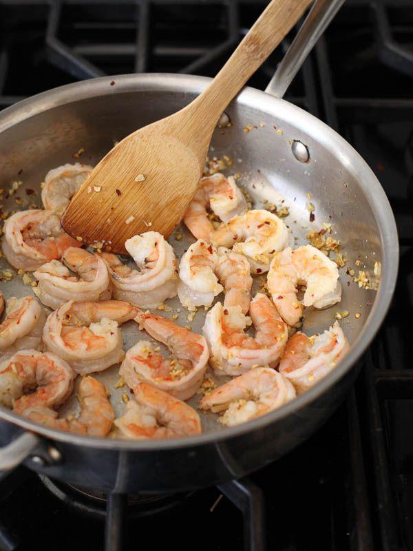 Shrimp Scampi - 5.5, good sauce, needs better shrimp