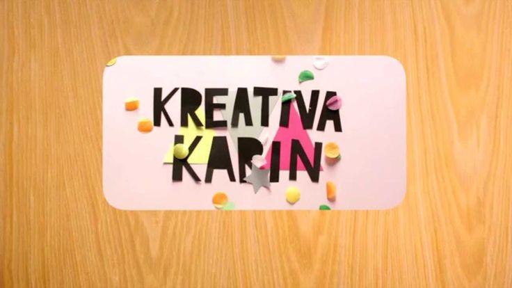 Julpyssel - Kreativa Karin gör snöflingor av glasspinnar
