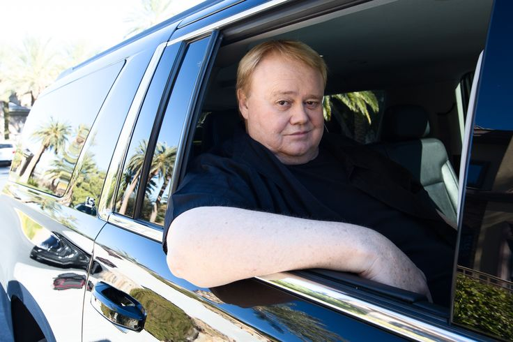 We were Louie Anderson's plus one.