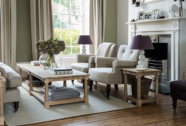Living Room Furniture Edinburgh edinburgh coffee table and william armchair #mantlepiece