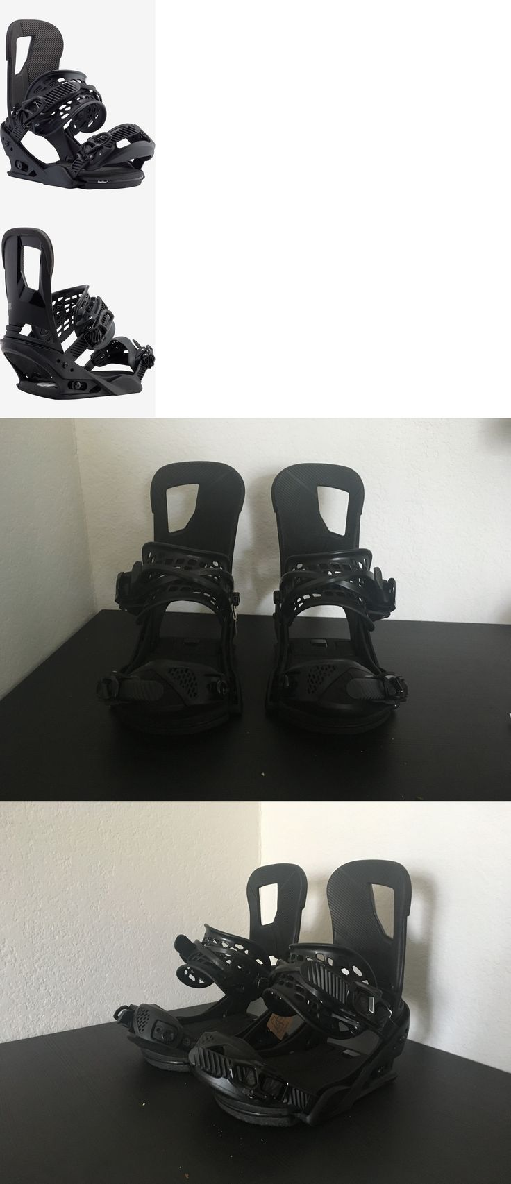 Bindings 21248: 2017 Burton Cartel Re:Flex Snowboard Bindings , Small, Black -> BUY IT NOW ONLY: $165 on eBay!