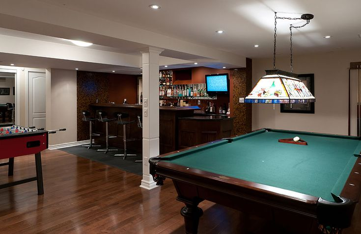 images of basements with game rooms | Basement Game Room ranks #3 on our list of great finished basement ...