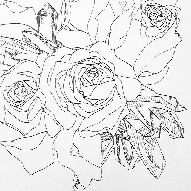 A Peek At The Natural Truths Coloring Book Flowers And Quartz Are One Of My