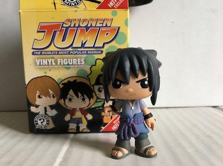 Funko mystery minis shonen jump best of anime sasuke