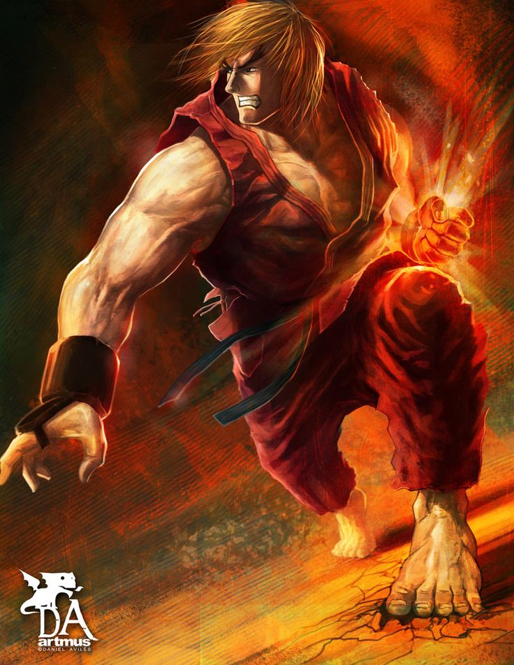 street fighter ken.