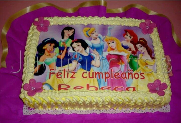 Princesas Disney | Cumpleaños | Pinterest | Disney