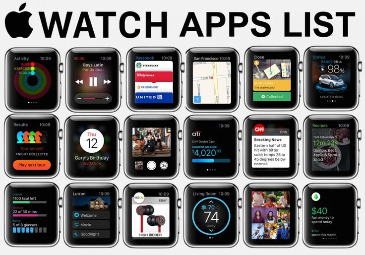 All 63 major Apple Watch apps to download at launch