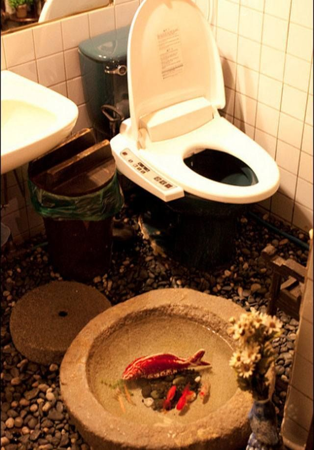 The Carp Toilet. The 11 Craziest Toilets From Around The World That You've Ever Seen • Page 5 of 7 • BoredBug