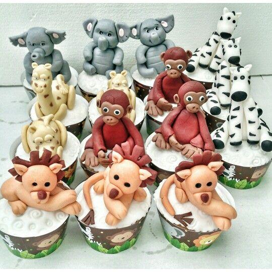 Hayvanli cupcake