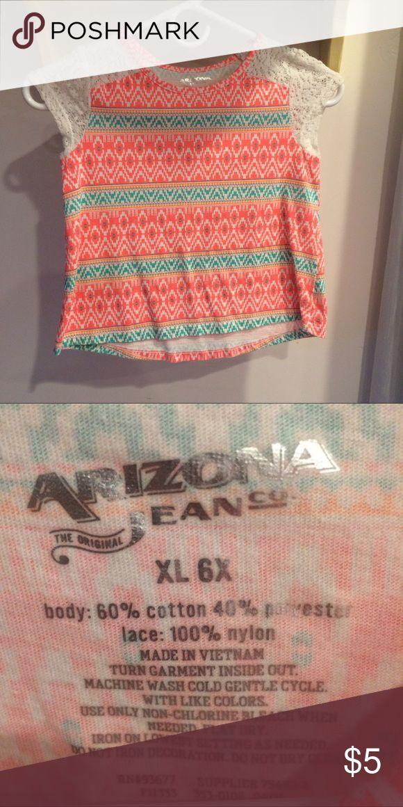 Arizona Aztec Top Perfect condition Arizona Jean Company Shirts & Tops