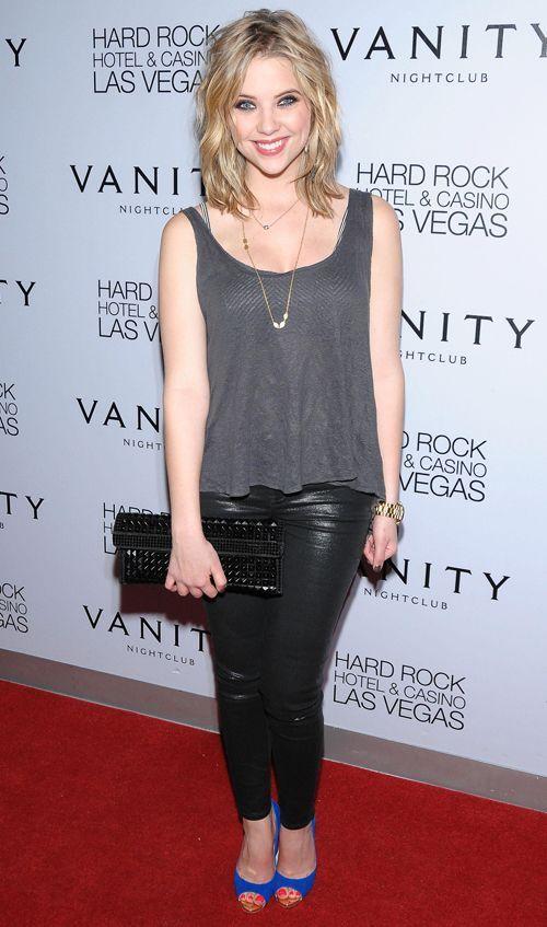 Love Ashley Benson's short hair!