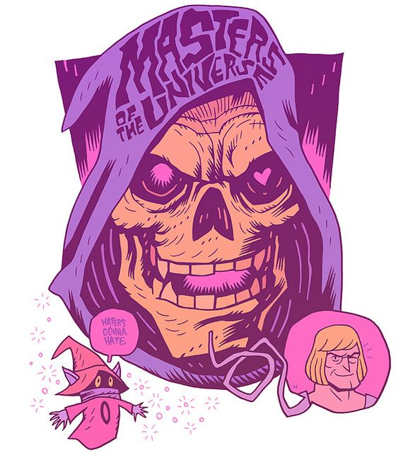 He man illustration by dan hipp