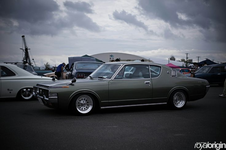 Toyota Crown coupe.