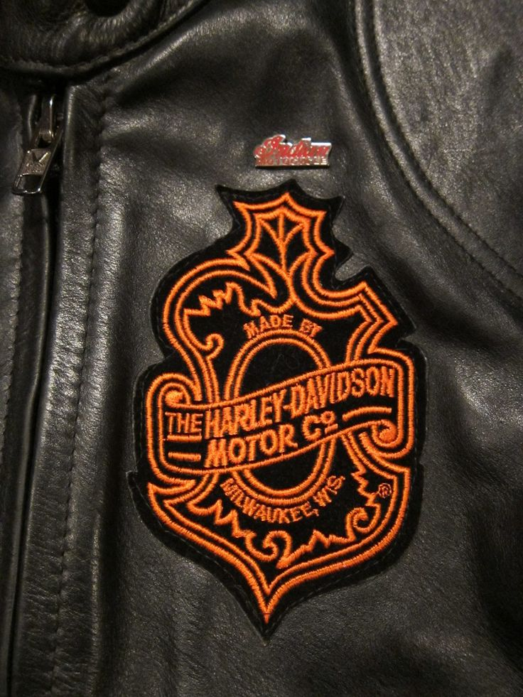 Harley Davidson Patch