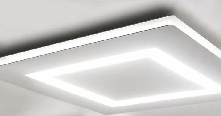 Plafoniera a LED a luce diretta FLAT   Lampada da soffitto - PANZERI