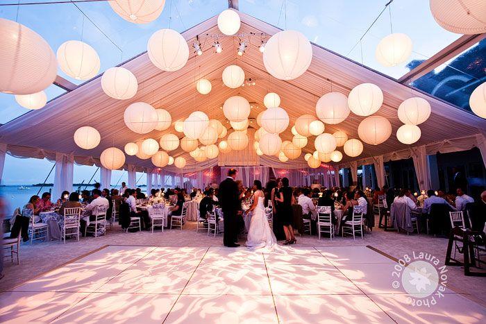 decoracion bodas blanco y azul - Buscar con Google