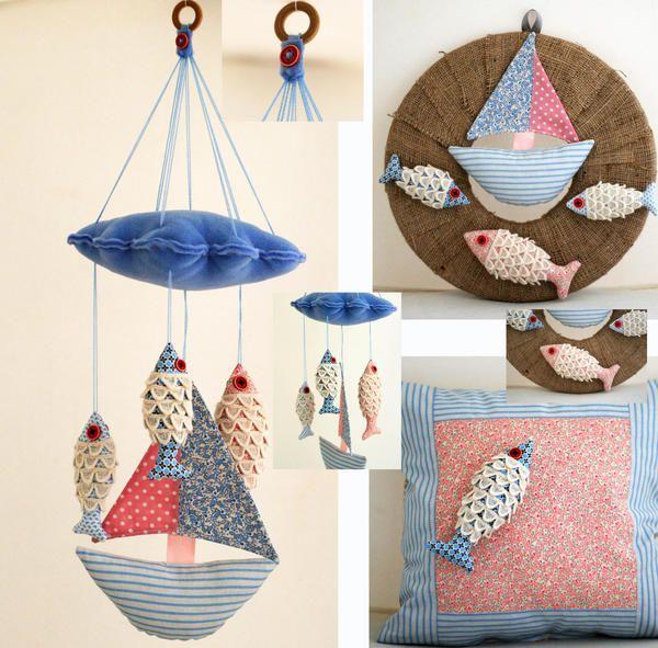 Balıkçı bebek takımı / Bebek odası / bebek odası aksesuar