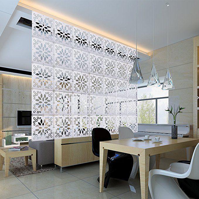 Kernorv Diy Room Divider Partitions Separator Hanging Decorative