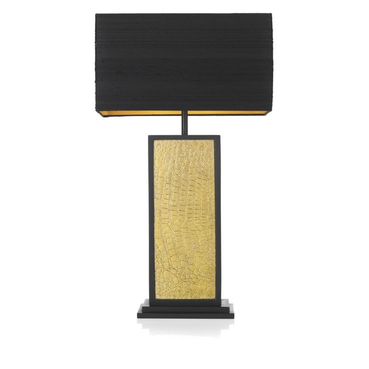 56 best table lamps images on pinterest david hunt buffet lamps david hunt lighting croc single light table lamp with a black and gold finish and matching shade mozeypictures Gallery