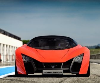 Cars Marussia Front View B2 HD Wallpaper