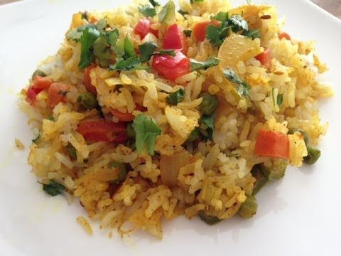 Simple Veg Biryani recipe - Indian Food Videos