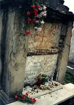 Make a wish at Marie Laveau's tomb. I've always been fascinated with the lore surrounding the Voodoo Queen of New Orleans. This seems like a completely logical way to spend my time.