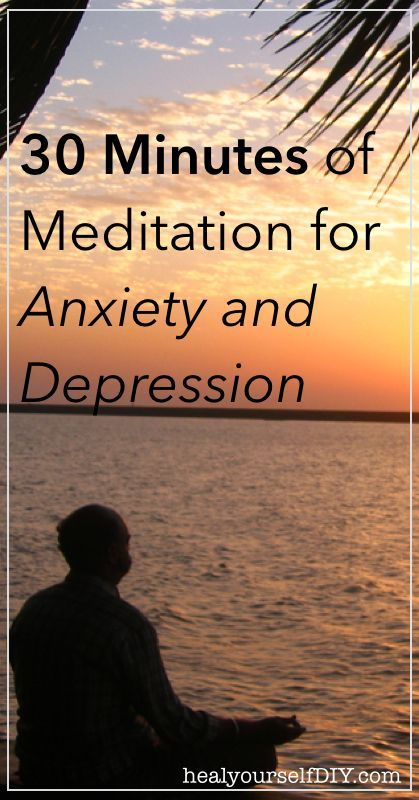30 Minutes Of #Meditation For Anxiety And Depression Relief  http://iandarrah.com/