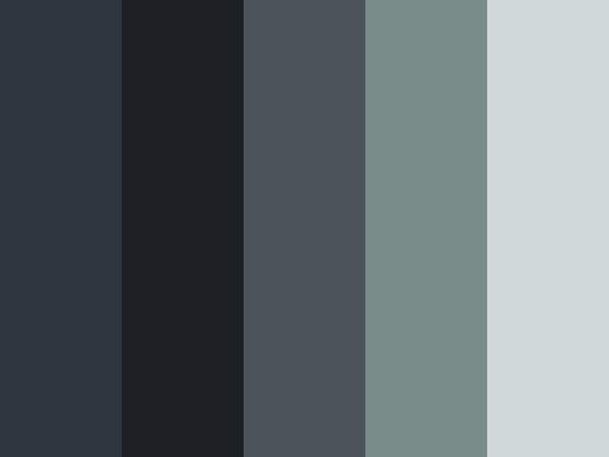 So cold by ivy21 blue charcoal cold grey moody for Blue gray paint palette