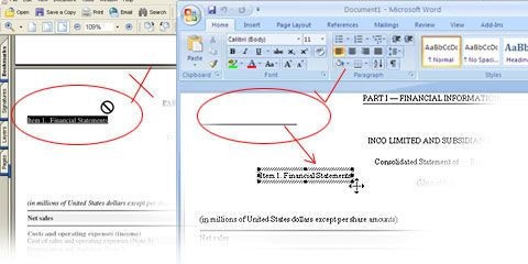 What Able2Doc Can Do For You    Able2Doc 6.0 delivers the quick accurate transfer of PDFs into editable MS Word for editing, analysis or other reversioning. Use it to: Edit Text, Perserve Formatting and Layout, Convert into Word Forms, PDF to Open Office Writer, Unicode and Non-Unicode Support, Scanned Image to PDF Conversion.