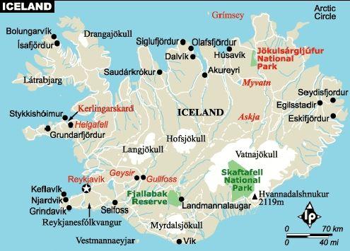image regarding Iceland Map Printable known as Absolutely free Printable Map Of Iceland iceland map europe iceland map