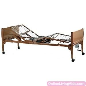 """Invacare - VVC5310 - IVC Value Care Semi-Electric Bed 88"""" x 15"""" to 23"""" x 36"""""""