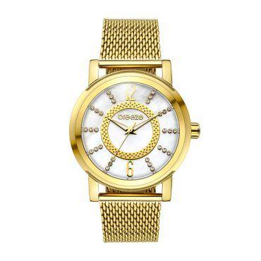 Γυναικείο μοντέρνο αδιάβροχo ρολόι BREEZE Casablanca 210631.2 με mother of pearl καντράν και επίχρυσο μπρασελέ   Ρολόγια BREEZE ΤΣΑΛΔΑΡΗΣ στο Χαλάνδρι #breeze #casablanca #μπρασελε #watches #ρολόγια