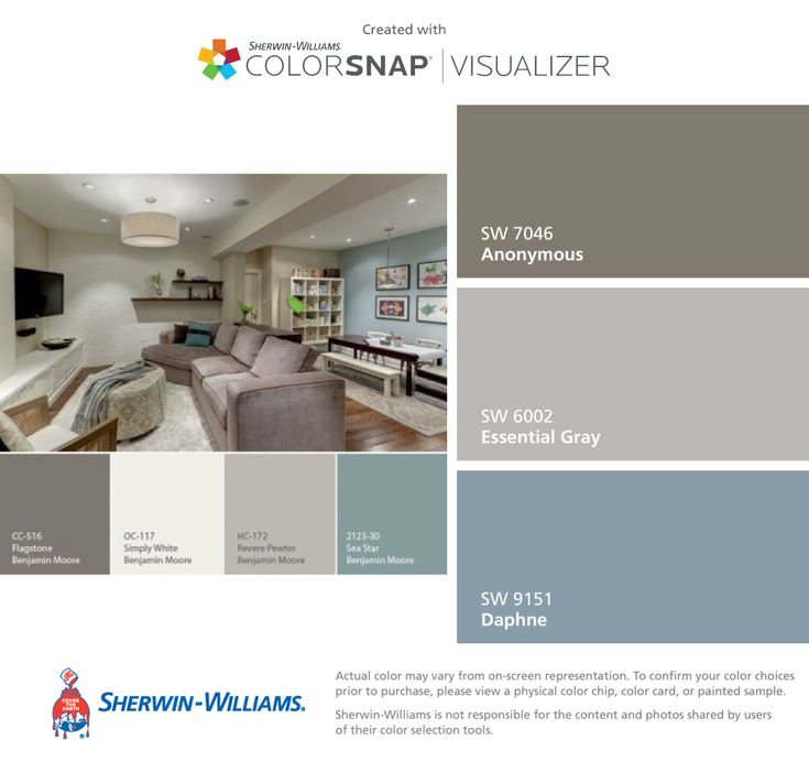 Ben Moore Colors Converted To Sherwin-Williams: Anonymous