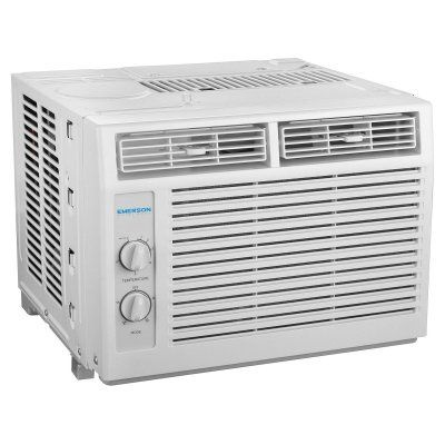 Emerson Quiet Kool 5000 BTU 115V Window Air Conditioner with Mechanical Rotary Controls - EARC5MD1