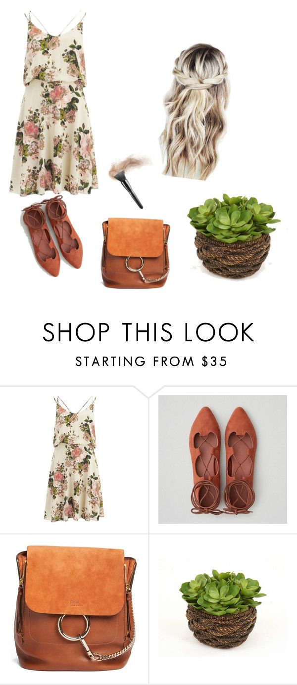 """""""Untitled #9"""" by terspabuclar on Polyvore featuring VILA, American Eagle Outfitters and Chloé"""