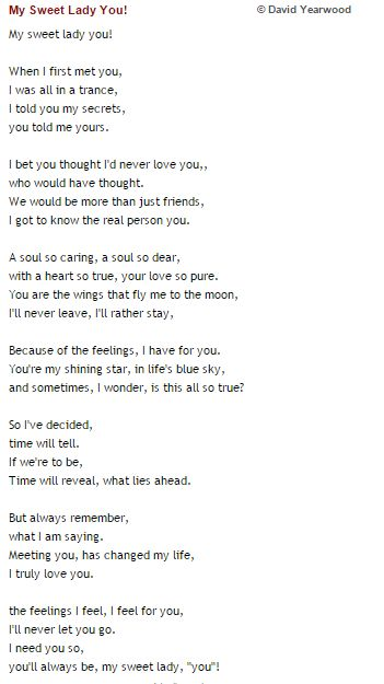 Love Poems for your Girlfriend that will Make Her Cry