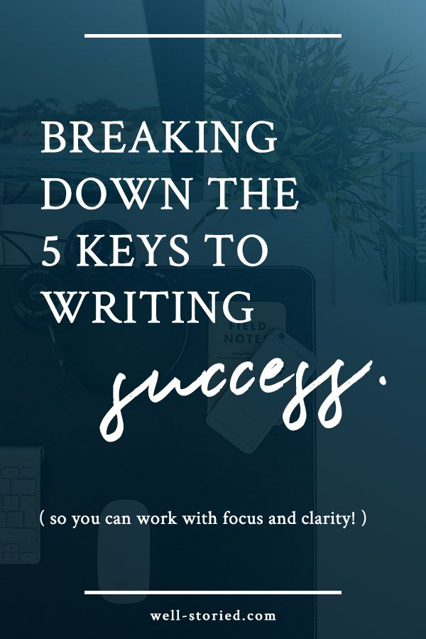 Struggling to make your writing dreams a reality? Author Kristen Kieffer shares 5 keys to writing success in this article from Well-Storied.com. Click through to give it a read!