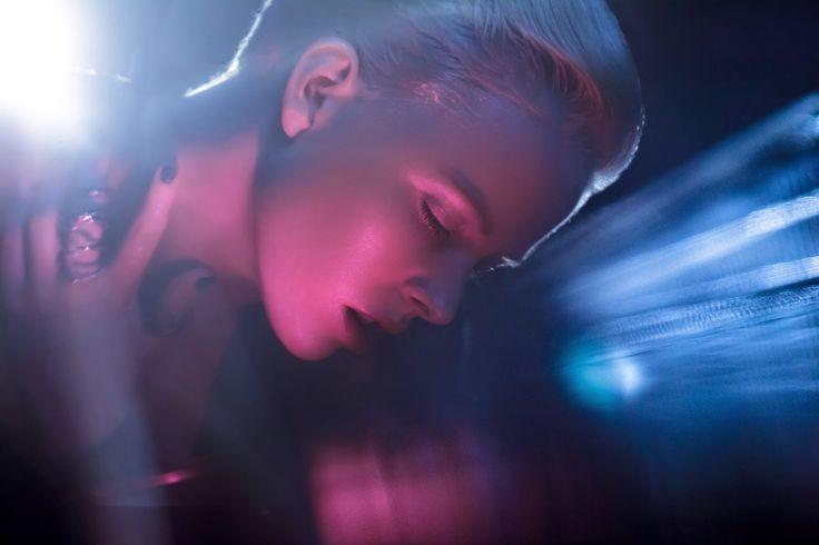 Photography: Chris Fatseas Model: Kelly Hockey Makeup: Carolina Rojas water, beauty, lighting, pink, blue, clear, skin